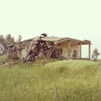 A destroyed home in the Israeli-occupied Golan Heights. (Photo: Patrick Strickland)